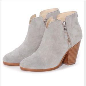 e019daa8bcfd1 rag & bone Shoes | Rag And Bone Margot Light Grey Booties | Poshmark